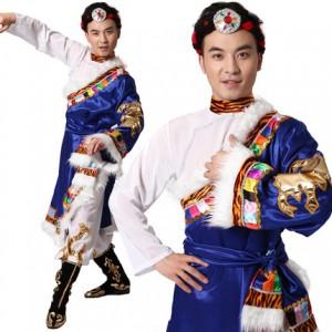西藏少数民族演出服装