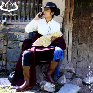 中国传统藏装藏袍