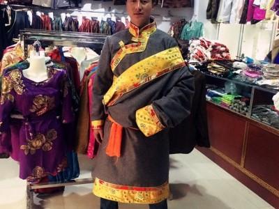 藏式衬衣藏族上衣藏袍藏装民族风衬衣
