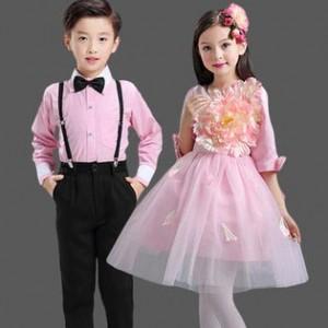 儿童演出服小学生合唱服