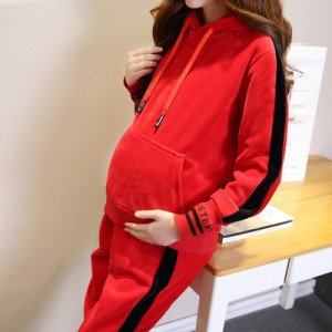 孕妇装冬装套装时尚款